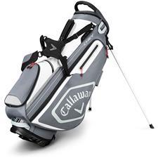 Callaway Golf Chev Stand Bag - Titanium-White-Silver