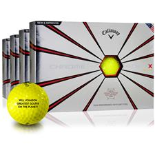 Callaway Golf Chrome Soft X Yellow Golf Balls - Buy 3 Get 1 Free