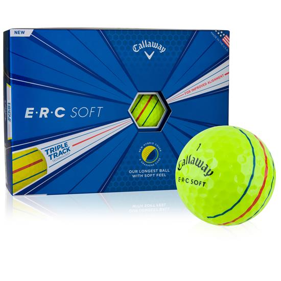 Callaway Golf ERC Soft Yellow Golf Balls