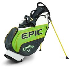 Callaway Golf Epic Flash Staff Double Strap Stand Bag - Green-Charcoal-White