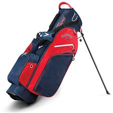 Callaway Golf Fusion Zero Stand Bag - Navy-Red-White