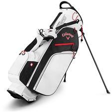 Callaway Golf Fusion Zero Stand Bag - White-Black-Red