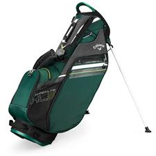 Callaway Golf Hyper-Lite 3 Double Strap Stand Bag - Green-Black-White