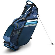 Callaway Golf Hyper-Lite 3 Double Strap Stand Bag - Black-White-Blue