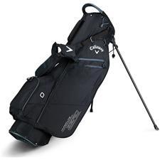 Callaway Golf Hyper-Lite Zero Double Strap Stand Bag - Black-Titanium-White