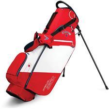 Callaway Golf Hyper-Lite Zero Single Strap Stand Bag - Red-White-Navy