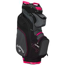 Callaway Golf ORG 14 Cart Bag for Women - Titanium-Black-Pink
