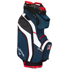 Callaway Golf ORG 14 Cart Bag - Navy-White-Red Flag