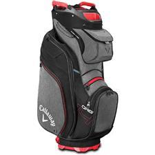 Callaway Golf ORG 14 Cart Bag - Titanium-Black-Red