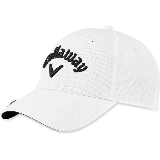 Callaway Golf Men s Stitch Magnet Hat - White Golfballs.com 9ea6cd44334