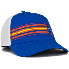 Callaway Golf Men's Stripe Mesh Hat - Royal-White-Orange