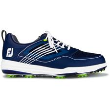 FootJoy Navy-White FJ Fury Golf Shoes