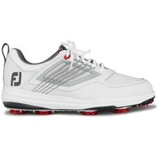 FootJoy White-Grey FJ Fury Golf Shoes