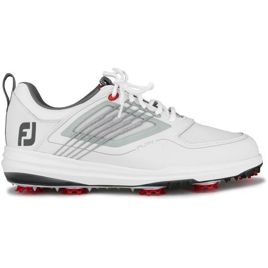 163d7b409f8 FootJoy Men s FJ Fury Golf Shoes - White-Grey - 13 Wide Golfballs.com