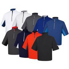 FootJoy Custom Logo FJ HydroLite Short Sleeve Rain Shirt