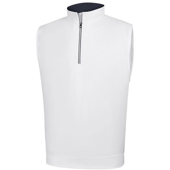 FootJoy Men's Performance Half-Zip Vest with Gathered Waist