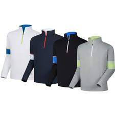 FootJoy Custom Logo Performance Half-Zip with Engineered Sleeves