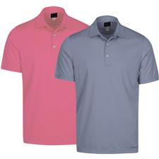 Greg Norman Men's Protek ML75 Microlux 2 Below Solid Polo
