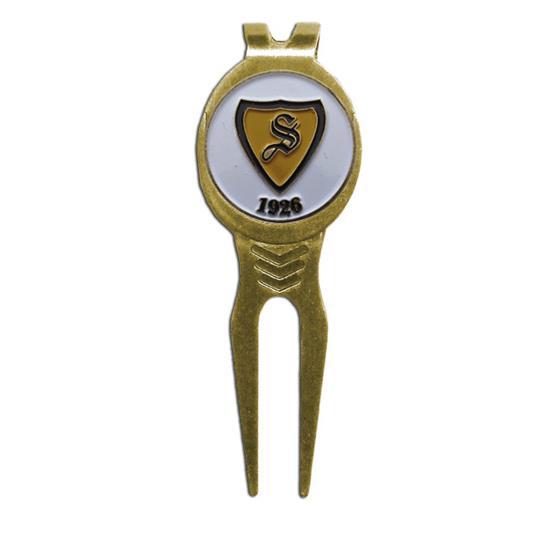 Logo Golf Grip Divot Tool