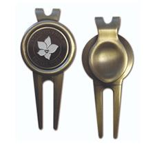 Logo Golf Smooth Divot Tool