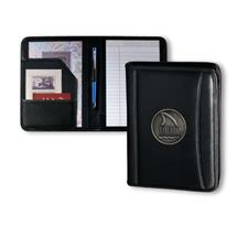 Logo Golf Top Grain Leather Jr. Padfolio