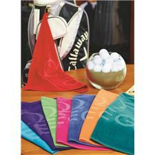 Logo Custom Logo Turkish Signature Colored Midweight Golf Towel