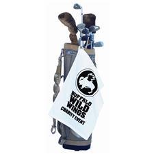 Logo Custom Logo Versa-Loop Midweight Golf Towel