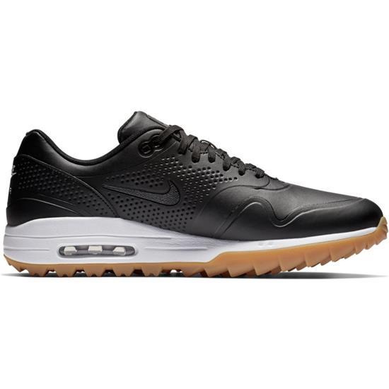810c87f69 Nike Men s Air Max 1G Golf Shoes - Black-Black-Gum Light Brown - 7 ...