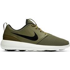 buy popular 35343 73f1f Nike Medium Olive-Black-Summit White Roshe G Golf Shoes