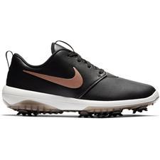 Nike Black-Metallic Red Bronze-Summit White Roshe G Tour Golf Shoe for Women