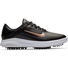 Nike Black-Metallic Red Bronze-White-Vast Grey Vapor Golf Shoes for Women