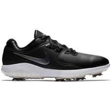 Nike Black-Metallic Cool Grey-White-Volt Vapor Pro Golf Shoes