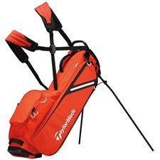 Taylor Made Flextech Lite Personalized Stand Bag - Blood Orange