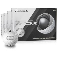 Taylor Made TP5x Novelty Golf Balls - Buy 3 DZ Get 1 DZ Free