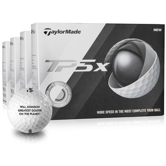 Taylor Made TP5x Golf Balls - Buy 3 DZ Get 1 DZ Free