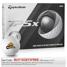 Taylor Made TP5x Custom Logo Golf Balls