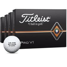Titleist Pro V1 Personalized Golf Balls - Buy 3 DZ Get 1 DZ Free