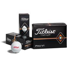 Titleist Custom Logo Pro V1 Half Dozen Logo Golf Balls