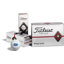 Titleist Custom Logo Pro V1x Half Dozen Logo Golf Balls