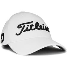 Titleist Men's Tour Ace Golf Hat - White-Black