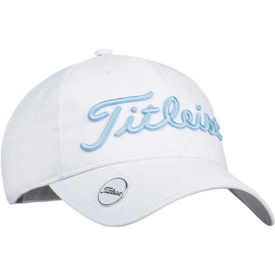 4cdf3667c86 Titleist Tour Performance Ball Marker Hat for Women - White ...