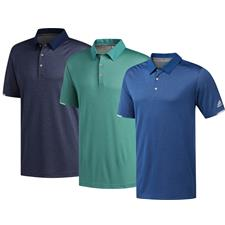 Adidas Large ClimaChill Core Heather Polo