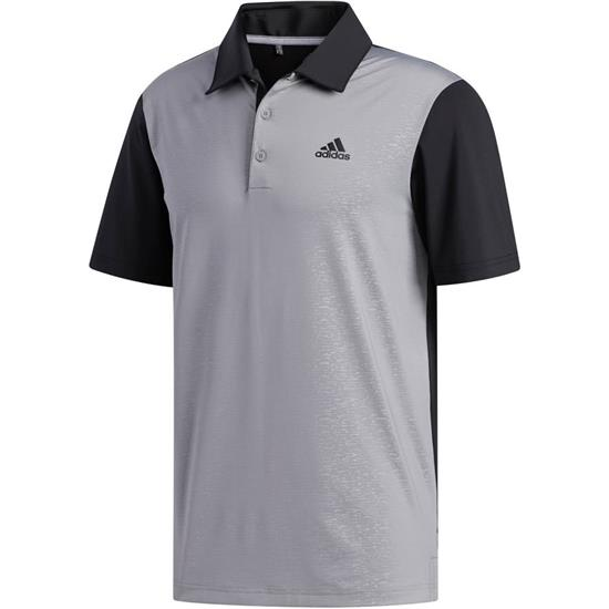 Adidas Men's Ultimate365 Camo-Embossed Polo