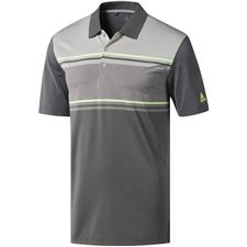 Adidas Grey Five-Grey Two-Grey Three Heather Ultimate365 Competition Polo