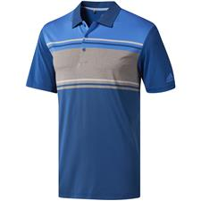 Adidas Dark Marine-True Blue-Grey Four Heather Ultimate365 Competition Polo