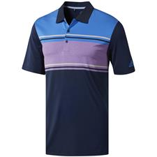 Adidas Collegiate Navy-True Blue-Active Purple Heather Ultimate365 Competition Polo