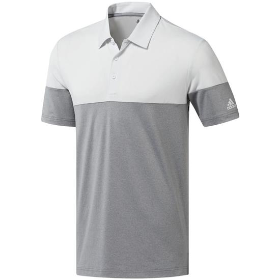 Adidas Men's Ultimate365 Heather Blocked Polo