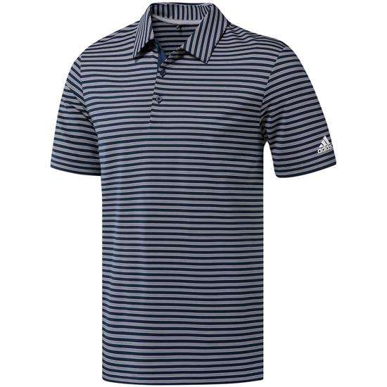 Adidas Men's Ultimate365 Two-Color Stripe Polo