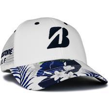 Bridgestone Men's Luau Series Hat - White-Navy