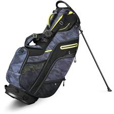 Callaway Golf Fusion 14 Stand Bag - Black Camo-Neon Yellow